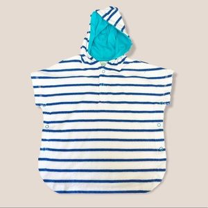Little Me Baby Striped Swim Cover-up Terry 6-9M